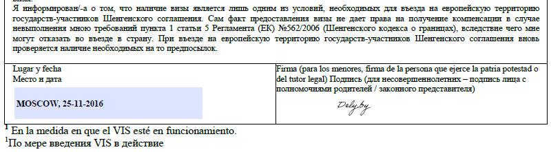 анкета на шенгенскую визу в эстонию бланк