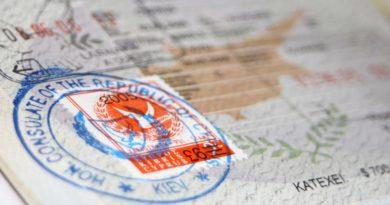 Документы для визы на Кипр