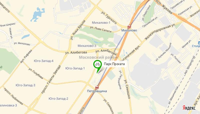 Прокат велосипедов Московский район