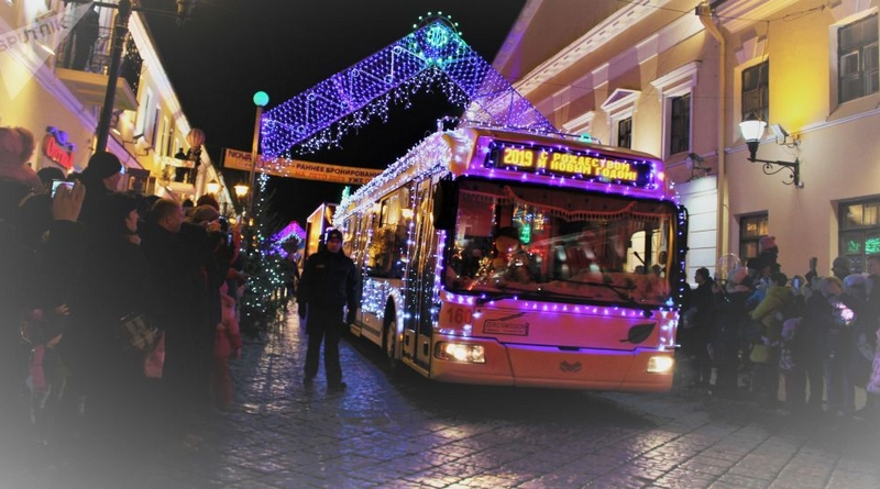 Режим работы общественного транспорта в новогоднюю ночь в Минске