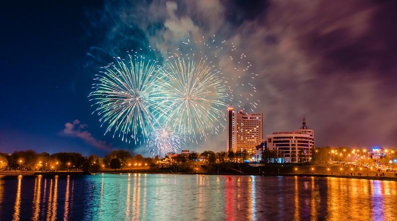 Где посмотреть праздничный салют и погулять в Минске на Новый год